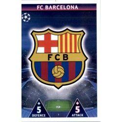 Escudo Barcelona 1 Match Attax Champions 2018-19