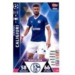 Daniel Caligiuri FC Schalke 04 100 Match Attax Champions 2018-19