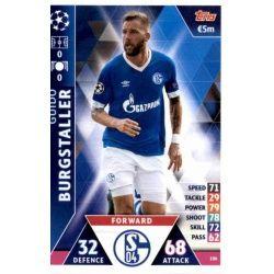 Guido Burgstaller FC Schalke 04 106 Match Attax Champions 2018-19