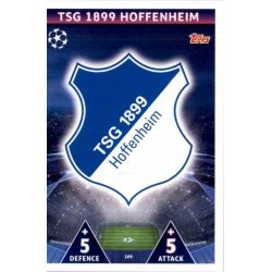 Escudo Hoffenheim 109 Match Attax Champions 2018-19