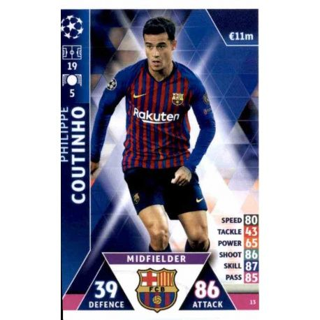 Philippe Coutinho Barcelona 13