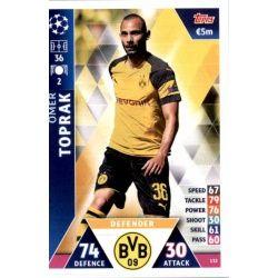 Ömer Toprak Borussia Dortmund 132