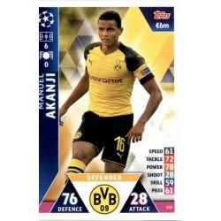 Manuel Akanji Borussia Dortmund 133