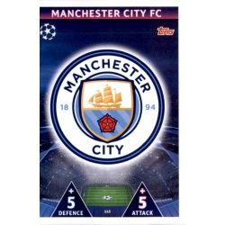 Escudo Manchester City 145Match Attax Champions 2018-19