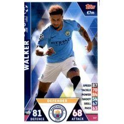 Kyle Walker Manchester City 147Match Attax Champions 2018-19