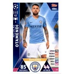 Nicolás Otamendi Manchester City 150Match Attax Champions 2018-19