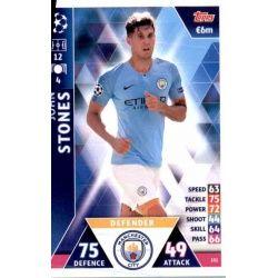 John Stones Manchester City 151Match Attax Champions 2018-19