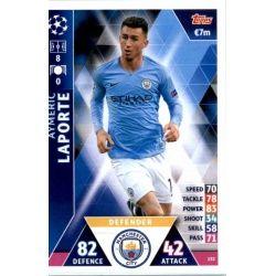 Aymeric Laporte Manchester City 152Match Attax Champions 2018-19