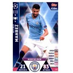 Riyad Mahrez Manchester City 154Match Attax Champions 2018-19