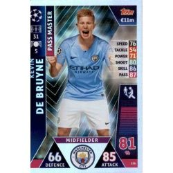 Kevin De Bruyne - Pass Master Manchester City 156