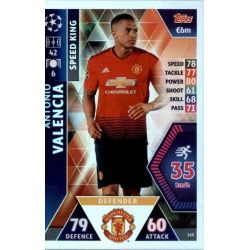 Antonio Valencia - Speed King Manchester United 165