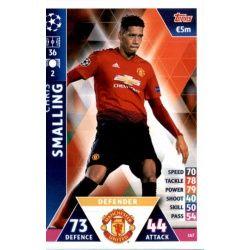 Chris Smalling Manchester United 167 Match Attax Champions 2018-19