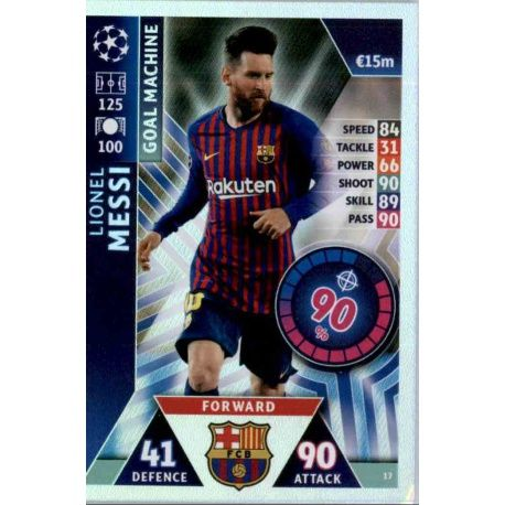 Lionel Messi - Goal Machine Barcelona 17