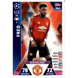 Fred Manchester United 170 Match Attax Champions 2018-19