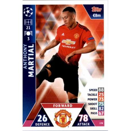 Manchester Utd Premier League 2019//20 19//20 Team Set 18 Cartes panini ADRENALYN
