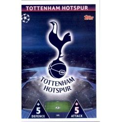 Emblem Tottenham Hotspur 181 Match Attax Champions 2018-19