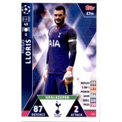 Hugo Lloris Tottenham Hotspur 182