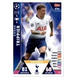 Kieran Trippier Tottenham Hotspur 183 Match Attax Champions 2018-19