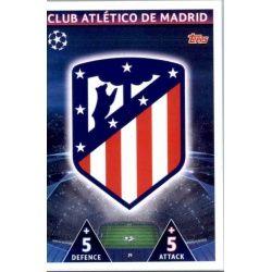 Emblem Atlético Madrid 19