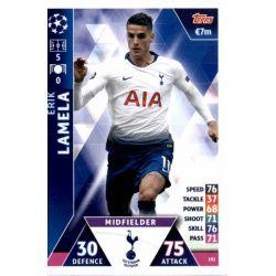 Érik Lamela Tottenham Hotspur 192 Match Attax Champions 2018-19