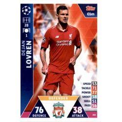 ofjan Lovren Liverpool 202