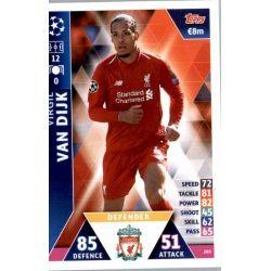 Virgil van Dijk Liverpool 203