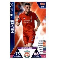 James Milner Liverpool 207