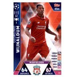 Georginio Wijnaldum Liverpool 209