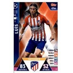 Filipe Luís Atlético Madrid 22