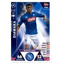 Amadou Diawara SSC Napoli 226Match Attax Champions 2018-19