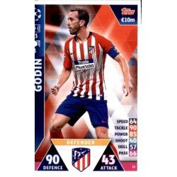 Diego Godín Atlético Madrid 23