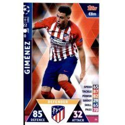 José Giménez Atlético Madrid 24
