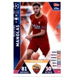 Kostas Manolas AS Roma 240