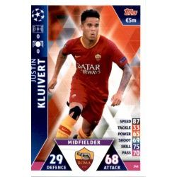 Justin Kluivert AS Roma 246
