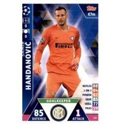 Samir Handanović Internazionale Milan 254
