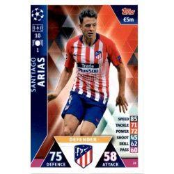 Santiago Arias Atlético Madrid 26