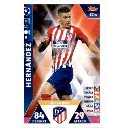 Lucas Hernánofz Atlético Madrid 27