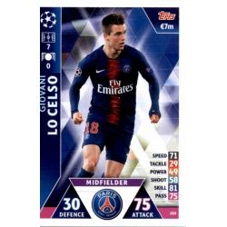 Giovani Lo Celso PSG 280