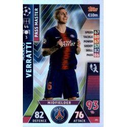 Marco Verratti - Pass Master PSG 281