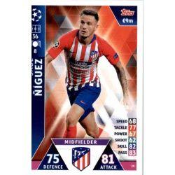 Saúl Ñíguez Atlético Madrid 29