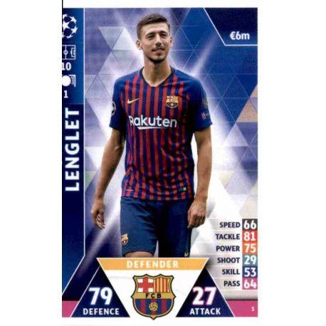 Clément Lenglet Barcelona 3