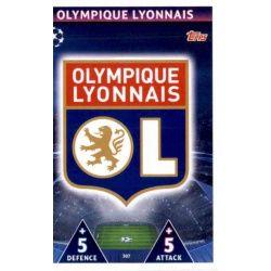 Escudo Olympique Lyonnais 307