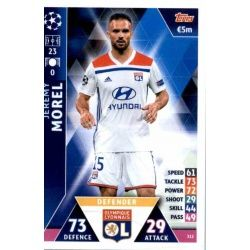 Jérémy Morel Olympique Lyonnais 312