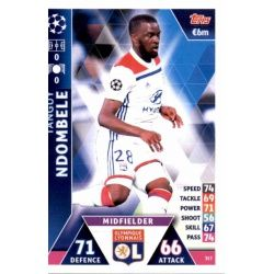 Tanguy Ndombele Olympique Lyonnais 317 Match Attax Champions 2018-19