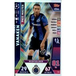 Hans Vanaken - Pass Master Club Brugge 336