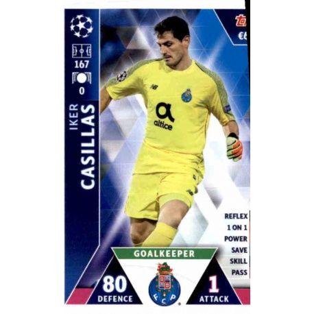 ec763751cdcfd Sale Trading Cards Iker Casillas FC Porto Topps Champions League 2019