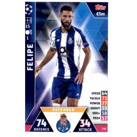reputable site 1191a 11eab Sale Online Felipe FC Porto Topps Champions League 2018 -19