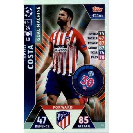 Big Offer Trading Cards Diego Costa Goal Machine Topps Champions ... ac1fb4c0162af
