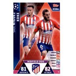 Saúl Ñíguez - Koke - Midfield Duo Atlético Madrid 36