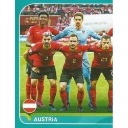 Line-up 1/2 Austria AUT2
